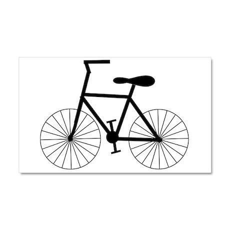 Cycling Design Car Magnet 20 x 12
