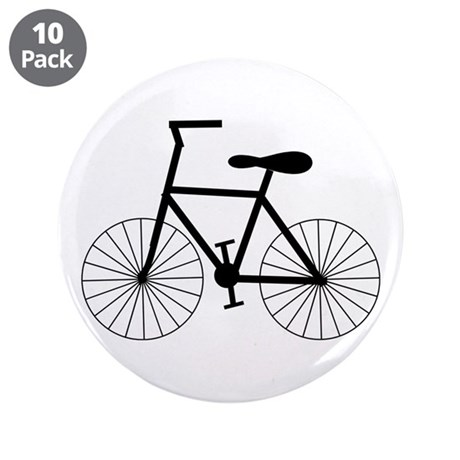 """Cycling Design 3.5"""" Button (10 pack)"""