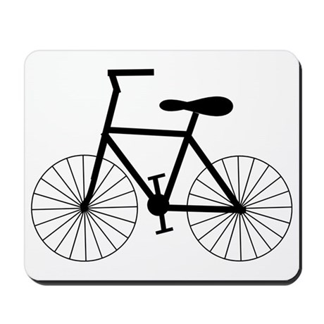 Cycling Design Mousepad