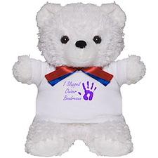 I Slapped Ouiser Teddy Bear