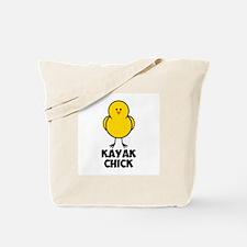 Kayak Chick Tote Bag