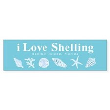 i Love Shelling Bumper Sticker