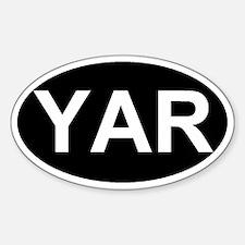 Unique Geek oval Sticker (Oval)