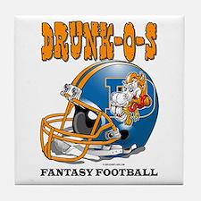Fantasy Football - Drunk-Os Tile Coaster