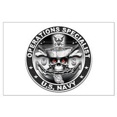 USN Operations Specialist Sku Posters