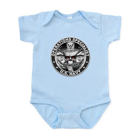USN Operations Specialist Sku Infant Bodysuit