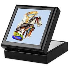 Carousel Horses Keepsake Box