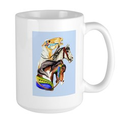 Carousel Horses Mug
