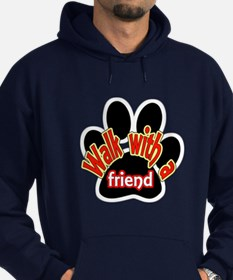 Walk With a Friend Hoodie (dark)
