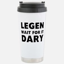 Legendary Stainless Steel Travel Mug
