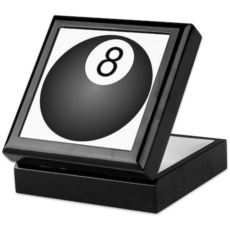 8 Ball Design Keepsake Box
