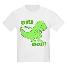 om NOM NOM dinosaur chomps T-Shirt