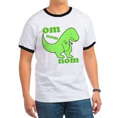 om NOM NOM dinosaur chomps T