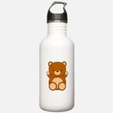 Cute Cartoon Bear Water Bottle