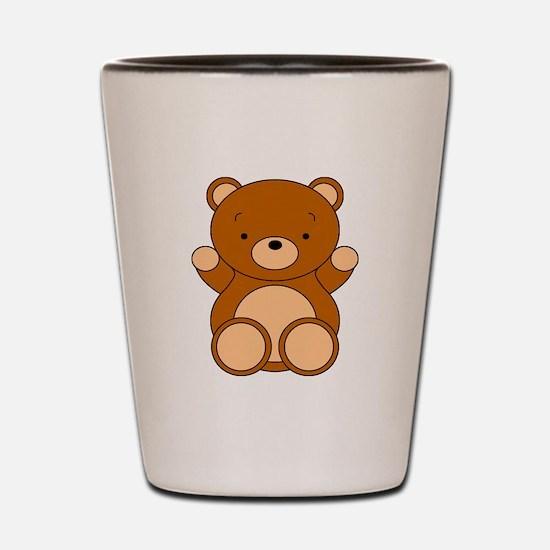 Cute Cartoon Bear Shot Glass