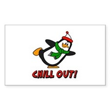 Chilly Willy Chill Out Decal