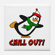 Chilly Willy Chill Out Tile Coaster