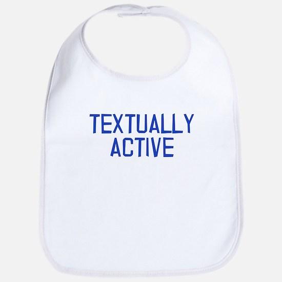 Textually Active Bib