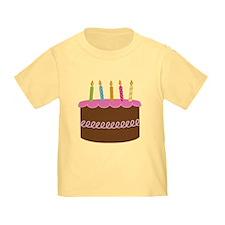 5th Birthday Cake T