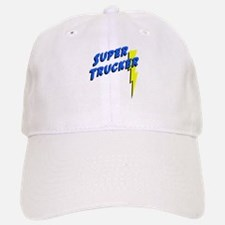 Super Trucker Baseball Baseball Cap