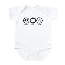 Peace Love Drum Infant Bodysuit
