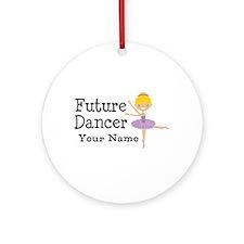 Personalized Future Dancer Ornament (Round)