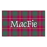 Tartan - MacFie Sticker (Rectangle 50 pk)