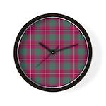 Tartan - MacFie Wall Clock