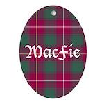 Tartan - MacFie Ornament (Oval)