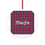 Tartan - MacFie Ornament (Round)