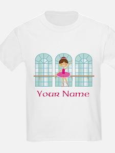 Customized Pink Ballerina T-Shirt