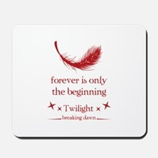 Forever is only the beginning Mousepad