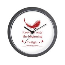 Forever is only the beginning Wall Clock