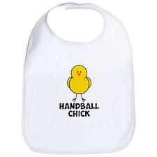 Handball Chick Bib
