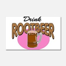Drink RootBeer Car Magnet 20 x 12