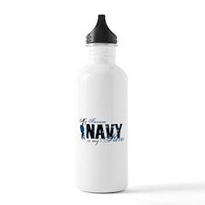 Fiancee Hero3 - Navy Water Bottle
