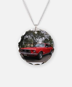 Mustang Wagon Necklace