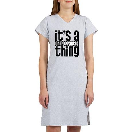 Chiropractic Thing Women's Nightshirt