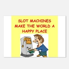 slot machine Postcards (Package of 8)