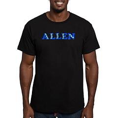Allen Men's Fitted T-Shirt (dark)
