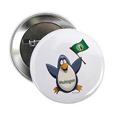 """Washington Penguin 2.25"""" Button"""