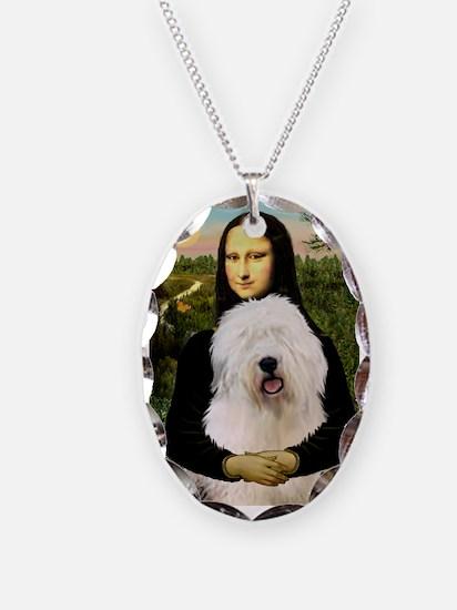 Mona's Old English Sheepdog Necklace