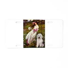 Windflowers / OES Aluminum License Plate