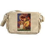 Mandolin Angel & Papillon Messenger Bag