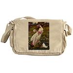 Windflowers & Papillon Messenger Bag