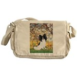 Spring & Papillon Messenger Bag