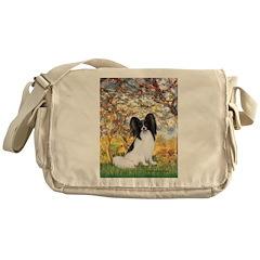 Spring & Papillon Messenger Bag
