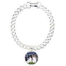 Starry / 2 Papillons Charm Bracelet, One Charm