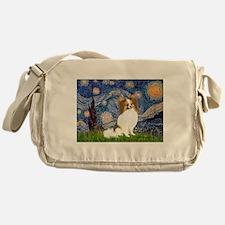 Starry Night Papillon (f) Messenger Bag