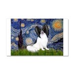 Starry Night Papillon Car Magnet 20 x 12